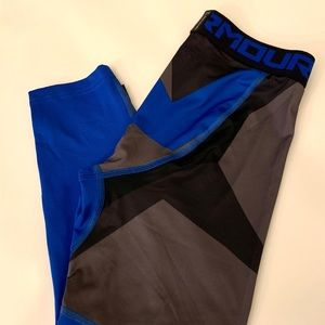 NWT UNDER ARMOUR Youth M Leggings